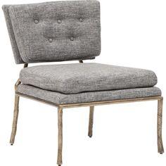 Cabot Chair, Beige Grey