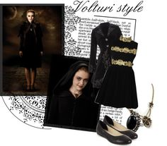 """""""Volturi style*"""" by twins005 ❤ liked on Polyvore"""