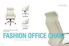 Office Executive Chair leather White  www.sitzone.cn