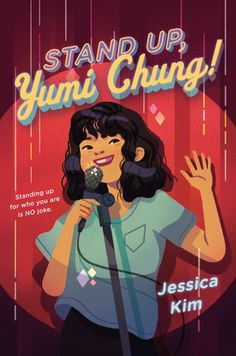 """On the outside, Yumi Chung suffers from a perm-gone-wrong, and kids calling her """"Yu-MEAT"""" because she smells like her family's Korean barbecue restaurant. On the inside, Yumi is ready for her Netflix stand-up special. Kids Comedy, Double Life, Korean American, Stand Up Comedians, Permed Hairstyles, Korean Hairstyles, Men Hairstyles, Youtube Stars, Chapter Books"""