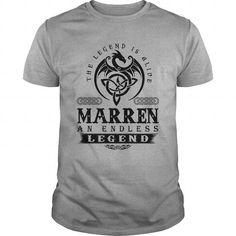 Cool  MARREN AN ENDLESS LEGEND T-SHIRT T shirts