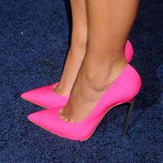 Sexy hot pink heels