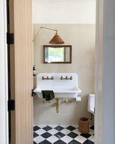 Serene Bathroom, Beautiful Bathrooms, Modern Bathroom, Bathroom Design Inspiration, Bathroom Interior Design, Home Decor Inspiration, Guest Bathrooms, Downstairs Bathroom, Brighton Apartment