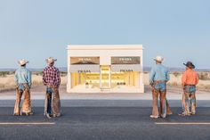 Gray Malin has shot new photographs for his popular series of Prada Marfa. Shot in Marfa Texas of the acclaimed art installation, Prada Marfa. Prada Marfa, Most Beautiful Pictures, Cool Pictures, Modern Fall Decor, Cowboy Art, Paint Swatches, Creating A Brand, Autumn Inspiration, New Image
