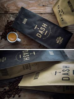 Ranging from simple minimalist designs to intricately detailed and colorful packages, here are 15 examples of creative coffee packaging that looks so good, the coffee probably tastes better. Food Packaging Design, Coffee Packaging, Bottle Packaging, Packaging Ideas, Coffee Shot, My Coffee, Folgers Coffee, Drip Coffee, Coffee Beans