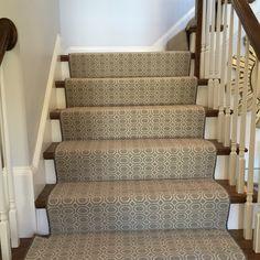 #geometric_stair_runner Carpet Runner, Rug Runner, Carpet Stairs, Stair  Runners, Houndstooth,