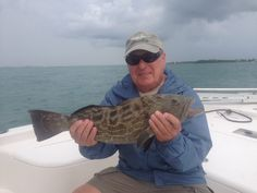 Bob V getting into some Grouper #reelh2o #reelmello