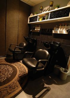 salon wash house storage - Google Search