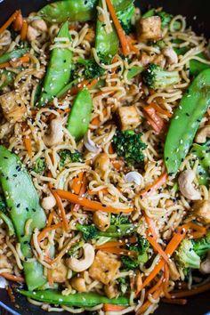 Vegan Chow Mein- eas
