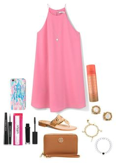"""""""Heels are overrated, just wear jack Rogers. """" by one-of-those-nights ❤ liked on Polyvore featuring MANGO, Kendra Scott, Dolce&Gabbana, Lilly Pulitzer, Chapstick, Topshop, Kate Spade, Jack Rogers and Tory Burch"""