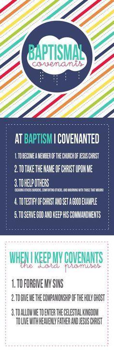 baptismal covenants handout