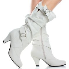 Women's Winter White Dress Boots | Thrifty & Chic: White Boots ...