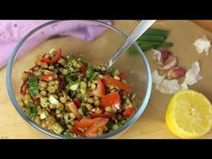Fakes Salata- schneller Linsensalat | Nia Latea