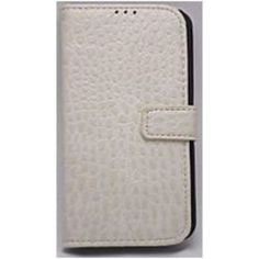 Accellorize 16115 Wallet Case for Samsung Galaxy S4 Smartphone - White