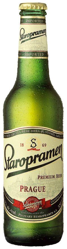 Staropramen beer from Prague, Czechia #beer #Czechia #CzechBeer
