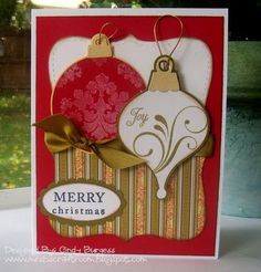 cards made with cricut joys of the season | Christmas Cricut card