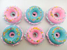 Bath Bombs - Donut Bath Bomb - Pink Birthday - Kawaii - Birthday Gift - Bath Bombs for Kids - Gifts Under 10 - Happy Birthday - Donut Party