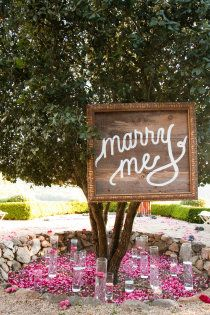 Engagement Shoot- Marry Me Wood Sign Wedding Signs, Wedding Bells, Wedding Events, Wedding Proposals, Marriage Proposals, Perfect Wedding, Dream Wedding, Magical Wedding, Ways To Propose