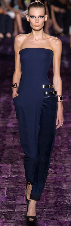 Versace, fall 2014 | Couture. Please like http://www.facebook.com/RagDollMagazine and follow @RagDollMagBlog @priscillacita