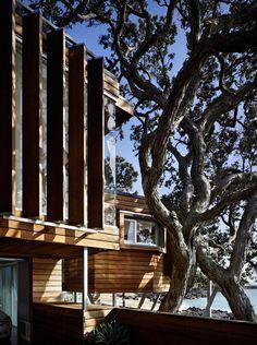 Thorne Bay House, Takapuna, New Zealand | Bossley Architects | Archinect