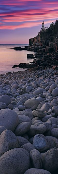 Atlantic Shores Acadia NP, Maine - Peter Lik -- I have seen this! Beautiful World, Beautiful Places, Places To Travel, Places To Go, Image Nature, Ocean Beach, Ocean Sunset, Amazing Nature, Beautiful Landscapes