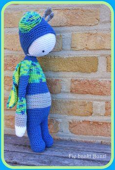 Fie bake, crochet and sew: Lalylala, Buzz, fly '