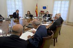 30/08/2013 Madrid, España El Presidente del Gobierno, Mariano Rajoy, preside la reunión del Consejo de Ministros celebrado en La Moncloa. Fotografía: Diego Crespo / Moncloa Presidencia del Gobierno