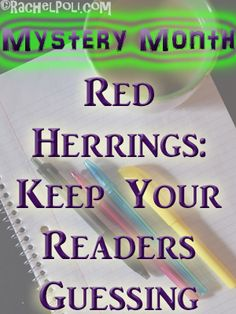 What's your favorite part about reading a mystery novel? You want to try to solve the case, right? You want to help the detective, telepathically communicate with the characters and figure th…
