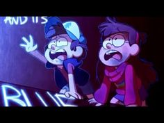 Gravity Falls Colors - YouTube