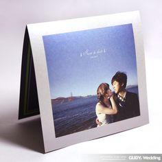 GUDY Wedding 婚禮設計 - Invitation ♥簡約又典雅的銀色照片喜帖