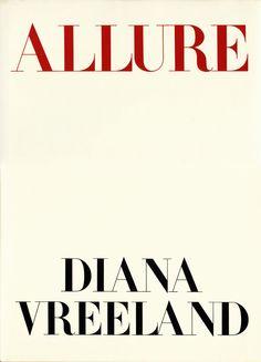 Allure / Diana Vreeland (first edition)