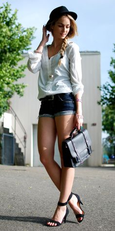 Easy Going ( Hats & Shirts & Blouses ) #moda #fashion (repineado por: @TuPlanC)