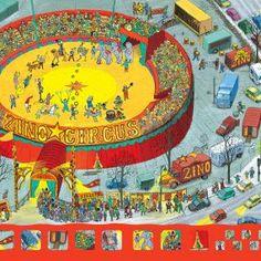 Jeu La Famille Oukilé : Au cirque