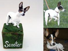 Custom Pet Sculpture by StudioBlinkr on Etsy