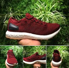 6c688cb45 Red Adidas Pure Boost Running Code  BA8895 Size  6.5-11(US)