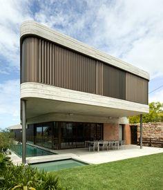 Gordons Bay House by Luigi Rosselli Architects | © Richard Glover #LuigiRosselliArchitects #LuigiRosselli #Architecture