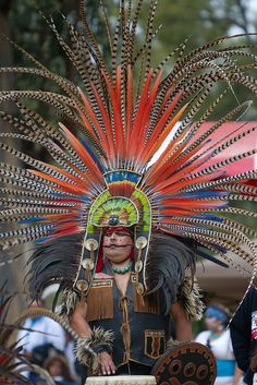 Aztec Drummer, Native American Pow Wow, Stanford University.  Photo: niftyken, via Flickr