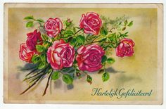 Postcards - Greetings & Congrads # 588 - Happy Birthday