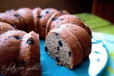 Banana blueberry cake/cupcakes: gluten-free, rice-free, egg-free, soy-free, dairy-free