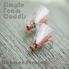 Simple Foam Caddis from Hopper Fishing