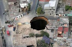 another angle of the Guatemala sinkhole