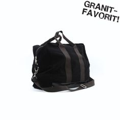 new styles 42a44 c1d08 Bag Canvas Black