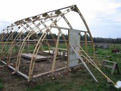 greenhouses (greenhouses forum at permies) Greenhouse Film, Greenhouse Plans, Aquaponics System, Aquaponics Plants, Best Fish For Aquaponics, Arched Cabin, Arch Building, Camping Pod, Gothic
