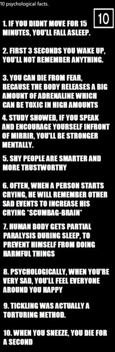ten things.