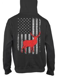 USA Flag Hunting Shirt