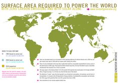 Not much land required to power Earth totally on solar.