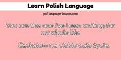 How do you say Marry Me in Polish? You learn 12 questions: how to say them in Polish & their English translations. Audio Lesson inside for pronunciation! Learn Polish, Polish Language, Language Lessons, English Translation, Second Language, Marry Me, Languages, Poland, Notes