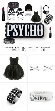 """when you go phsyco in style"" by master-of-affection1 on Polyvore featuring art"