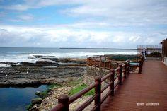East London, South Africa - boardwalk beauty at Nahoon Beach Kwazulu Natal, Seaside Towns, African Countries, Nelson Mandela, White Sand Beach, East London, East Coast, Places Ive Been, South Africa