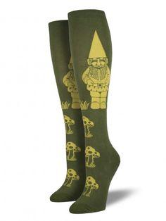 Gnome Knee High Socks